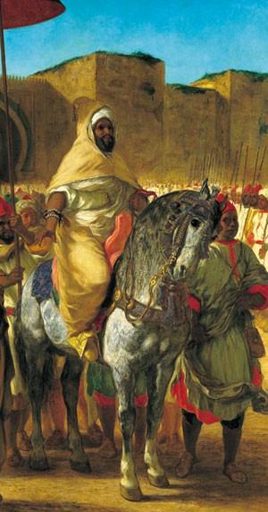 Quand l'Orient envoûtait les Français Delacroix-abd-er-rahman