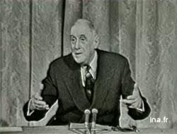 C'était il y a... cinquante ans L'année 1962 en images Ina_degaullevolapuk