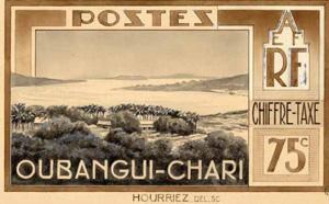 La République centrafricaine, de l'indépendance au chaos par Alban Dignat Oubangui-chari-timbre