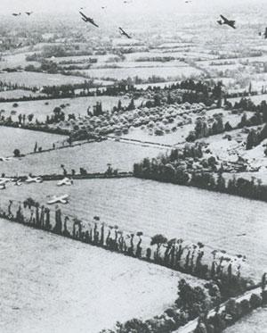 6 juin 1944 : Les Alliés débarquent en Normandie. Planeurs
