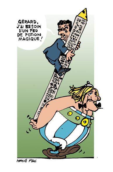 Pastiches, detournements, plagia de vos personnages préférés ! - Page 10 Obelix