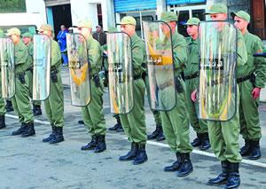 فرق القوات المساعدة  الجدد بأصفاد وهراوات متطورة 1212202008112723AM1