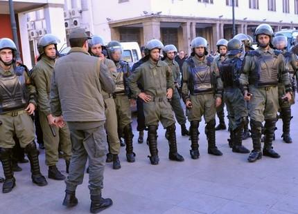 أمن أكادير يُجهض وقفة دعت لها حركة 20 فبراير 20fevsurete01