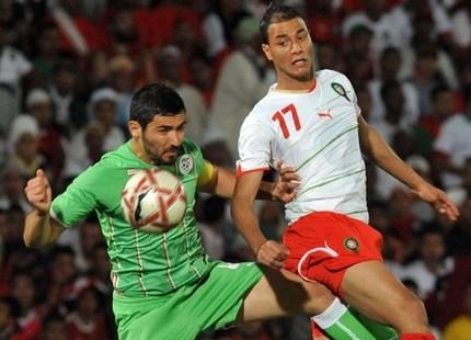 المغرب يسحق الجزائر برباعية تاريخية Chamakh4june