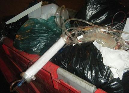 النفايات الطبية والصيدلية ..آفة تتهدد الساكنة Dechet_tetuannador