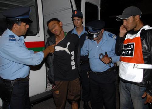 الداخلية ترسم خريطة الجريمة بالمغرب  Policemaroc15266