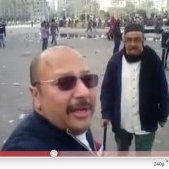 خلاف عائلي في ميدان التحرير Tahrirsquarefev