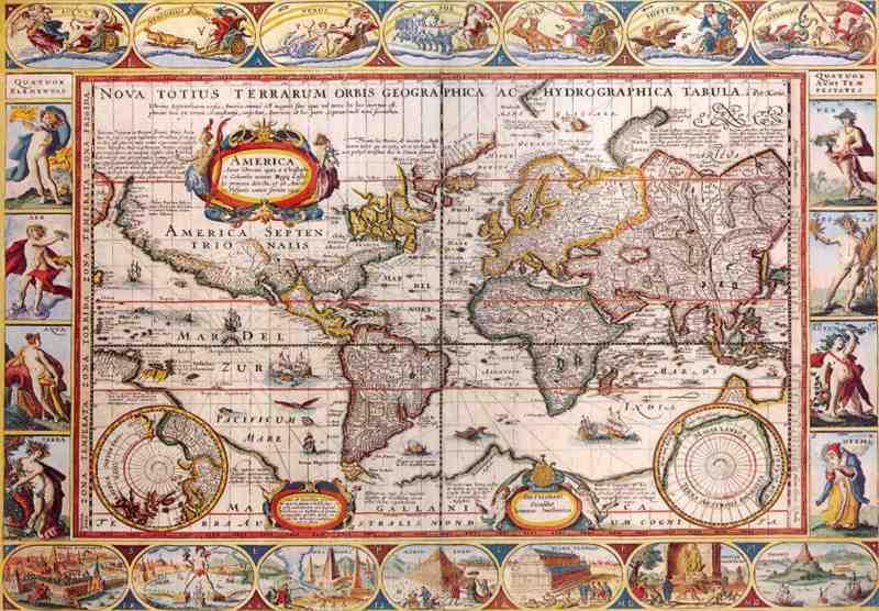 Stare geografske mape i karte - Page 2 Mapa