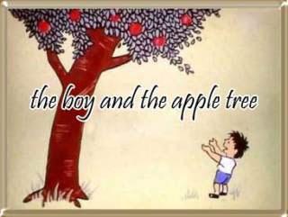 Cậu bé và cây táo Cau
