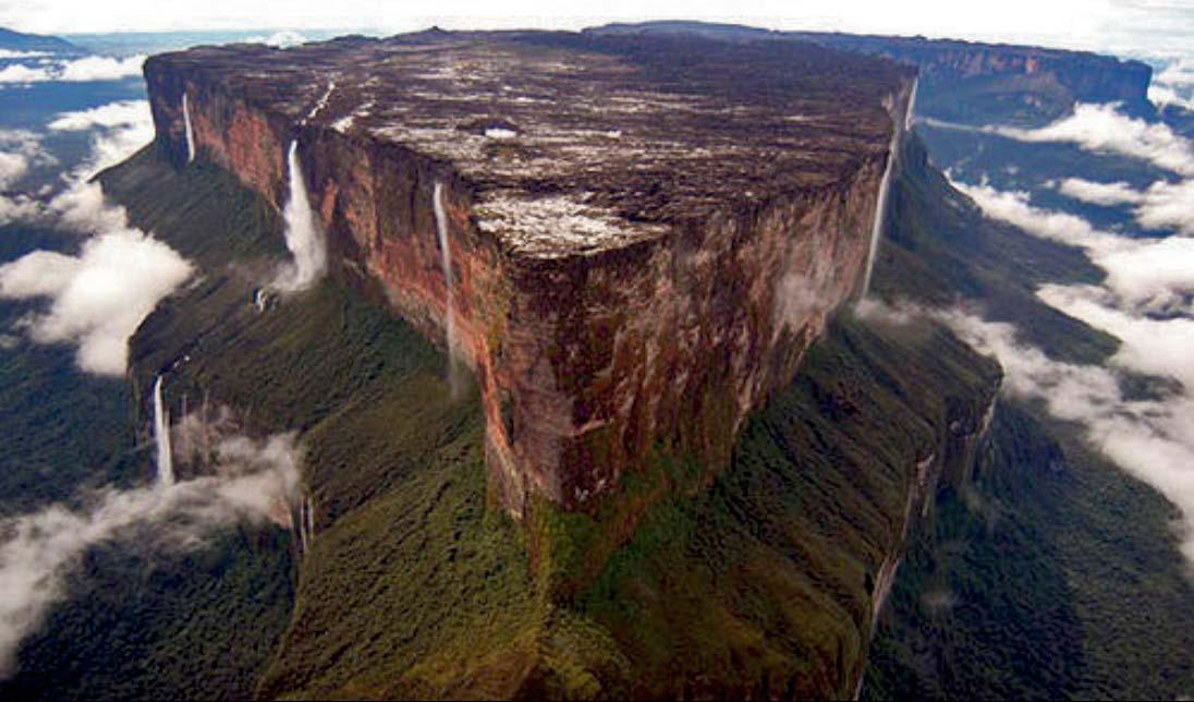 C'est de toute beauté : sites et lieux magnifiques de notre monde. Roraima-north-large