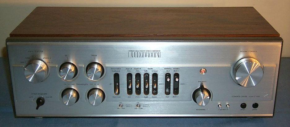 Vúmetros Luxman1020