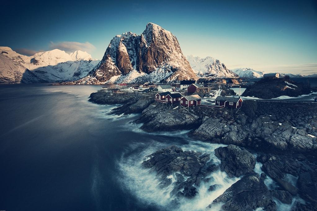 Роскошные пейзажи Норвегии - Страница 23 Norwegian-Winter