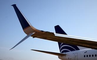Boeing 737 ( avión de reacción de pasajeros de fuselaje estrecho de corto a medio alcance USA ) Split-scimitar31