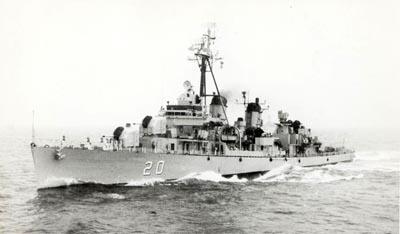 Modelismo Naval - Armada Argentina DDBrown20-x400