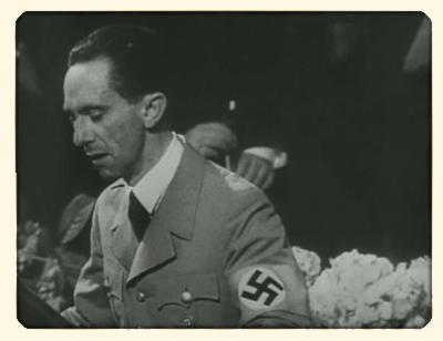 La mort de Goebbels Goebbels-discours