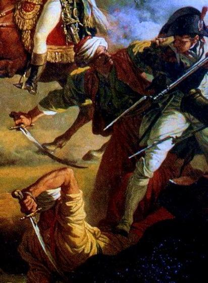 Campagnes d'Egypte .. !a révolte Foule