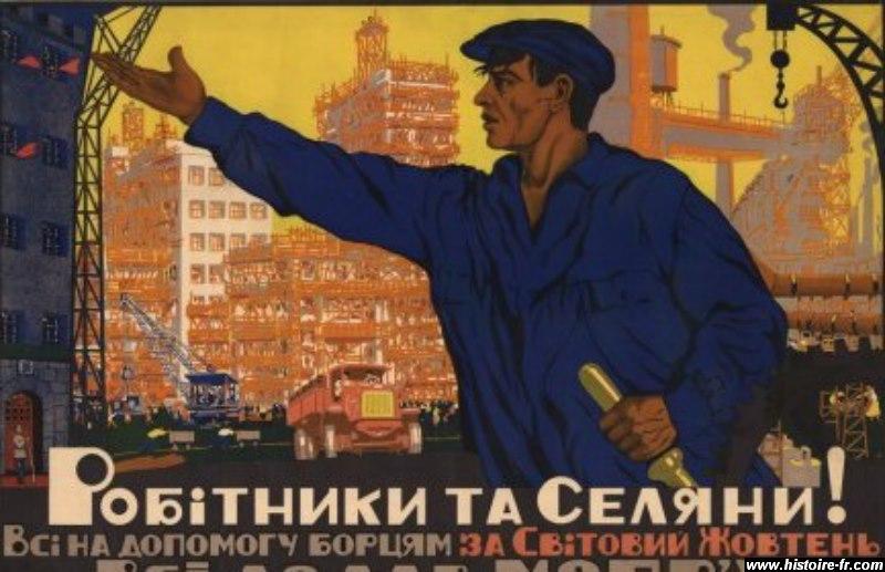 [Jeu] Association d'images - Page 3 Propagande_URSS_stakhanov