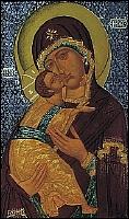St Luc peignant la Vierge V_vladimir_16e