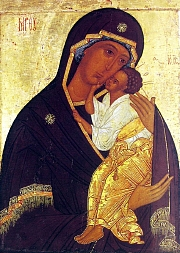 St Luc peignant la Vierge V_yaroslavl