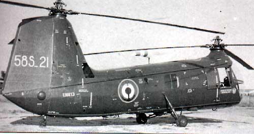 Hélicoptère BANANE FLOTILLE 31F Intro
