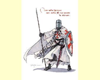 Les chevaliers de l'Ordre du Temple - Tome 2 : La revanche du Templier de Mary Reed McCall Carte_A5_chevaliers_2