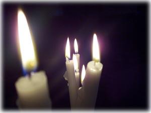 Funerale di Ladydiana Lutto-candele55