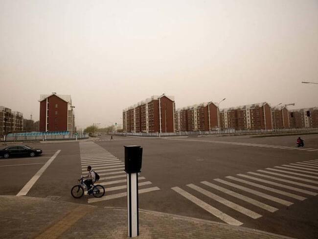 La ciudad abandonada más grande del planeta Kangbashi