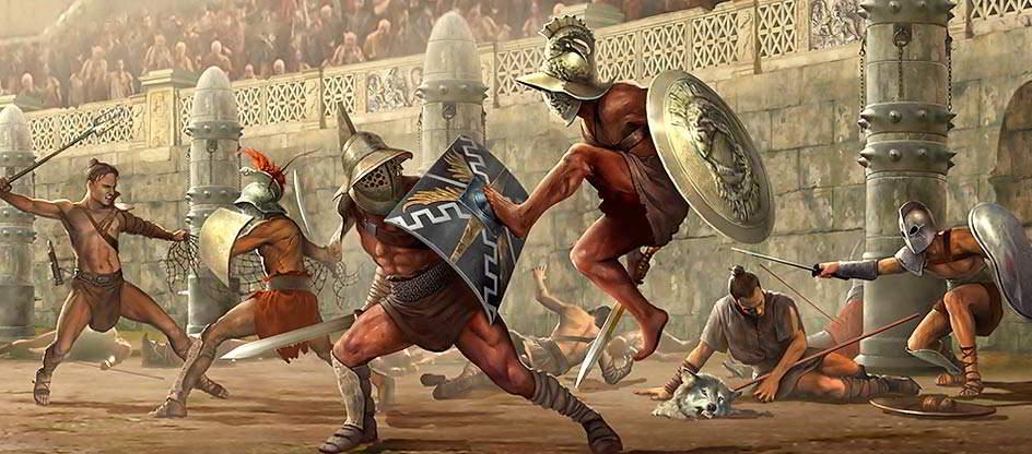 Misión 14: El Gran torneo de Teorann  Gladiadores