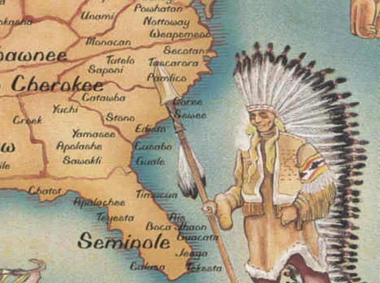 Indijanci na fotografiji i slici Native_American_map_one