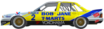 1987 Bathurst 1000 : Entry List TCL87a02
