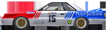 1987 Bathurst 1000 : Entry List TCL88A15