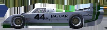 Starting Grid for Round 2 IMSA1982_Jaguar44p