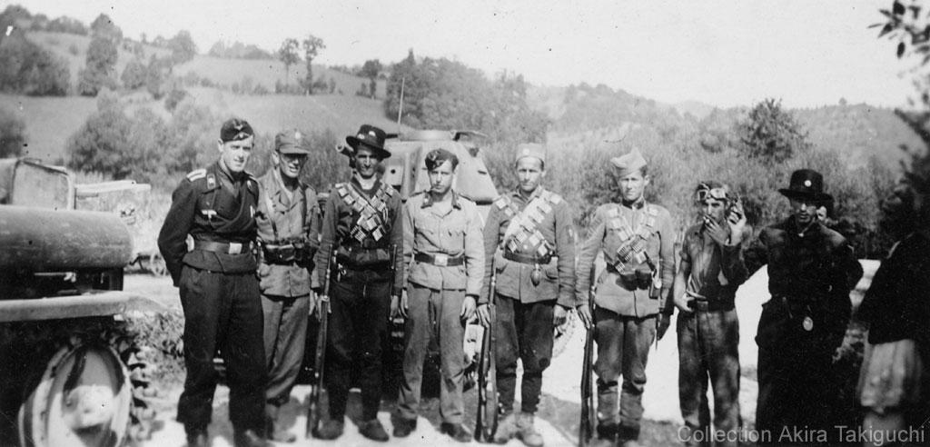 Guérilla et contre-guérilla dans les Balkans [Dossier photo] Hotchkiss