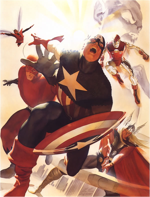 Alex Ross and How Overrated He Is Avengers_alex_ross_01