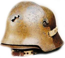 Немецкие стальные шлемы М16-18 Avstr_helmet
