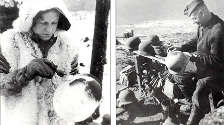 Немецкие стальные шлемы М40,М42 Paint_shell
