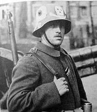 Немецкие стальные шлемы 1919-1934г Freikorps