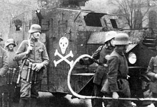Немецкие стальные шлемы 1919-1934г Freikorps_m18