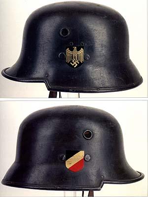 Немецкие стальные шлемы 1919-1934г M32_80