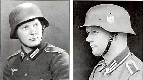 Немецкие стальные шлемы 1919-1934г M_31