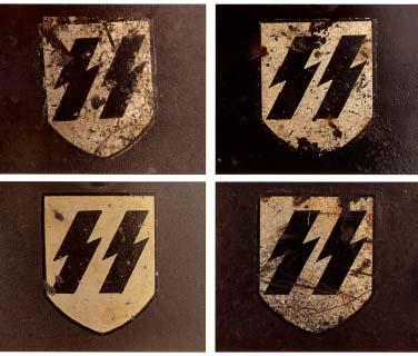 Немецкие стальные шлемы 1919-1934г Ss_shield_1