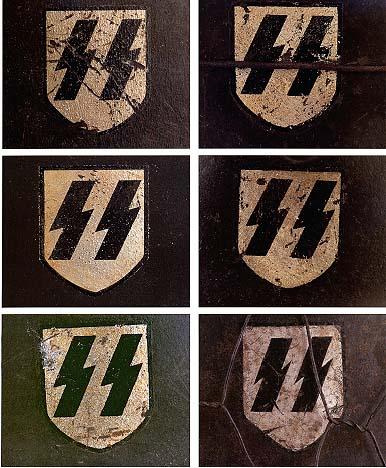 Немецкие стальные шлемы 1919-1934г Ss_shield_2