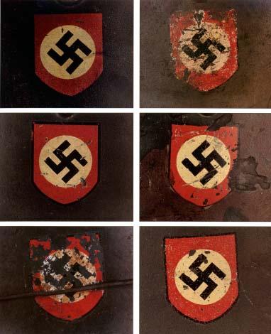 Немецкие стальные шлемы 1919-1934г Swastika