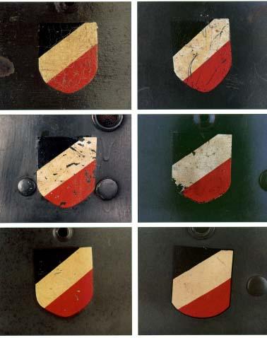 Немецкие стальные шлемы 1919-1934г Tricolor