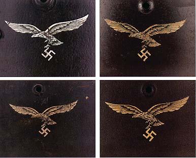 Немецкие стальные шлемы М35 Eagle_luftwaffe_late