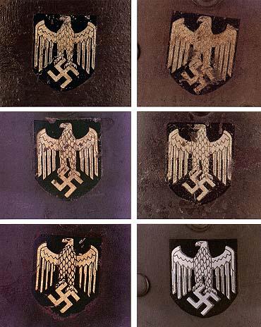 Немецкие стальные шлемы М35 Silver_eagle_wehrmacht