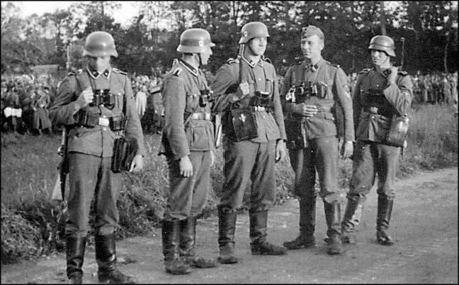 Немецкие стальные шлемы М35 Waffen_ss_m_35