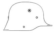 Немецкие стальные шлемы М16-18 Model_1916_gr