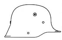 Немецкие стальные шлемы М16-18 Model_1917