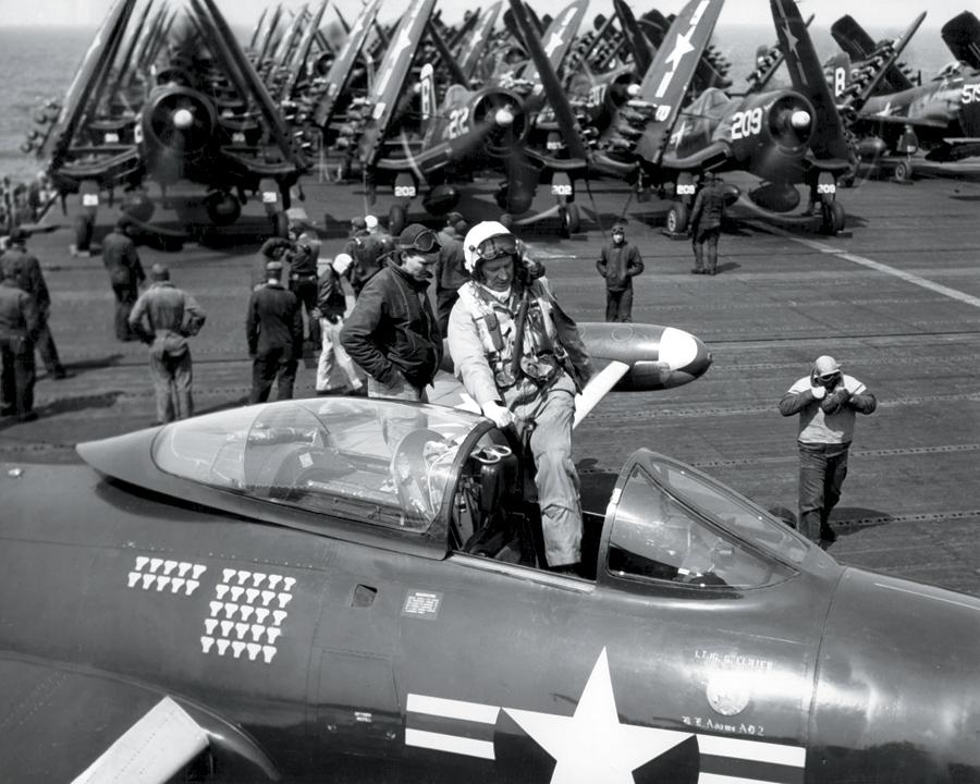 l'US air force  et l'aéronavale KOREA_NAVY_PILOTS_PRINCETON
